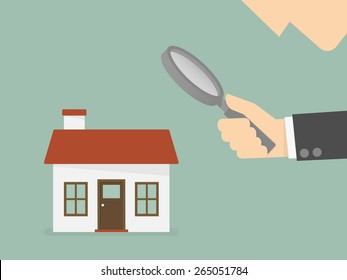 Find real estate, searching for home