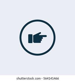 Finger gun icon