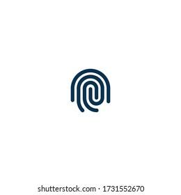 Finger Print  - Pictograph | Line Icon