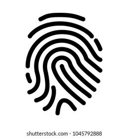 Finger or Thumb Print