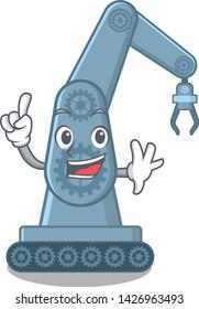Finger toy mechatronic robot arm cartoon shape