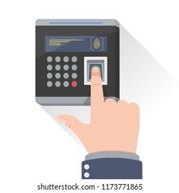 Fingerprint access control device