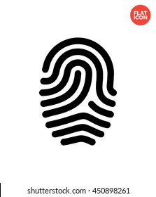 Fingerprint Icon. Loop Fingerprint Icon. Secure ID Icon Vector. Fingerprint Flat Style. ID Fingerprint Icon Apps. Loop ID Icon Object. Loop Fingerprint Icon Design Element. Finger ID Icon Image.