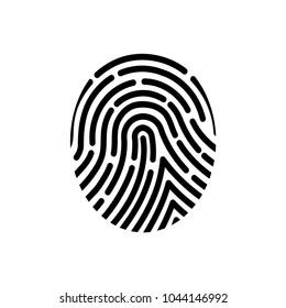 Fingerprint of the person.