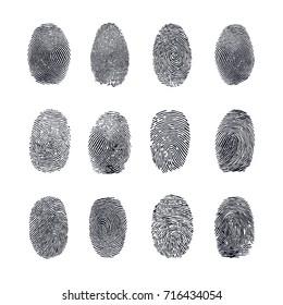 Fingerprint Vector Set