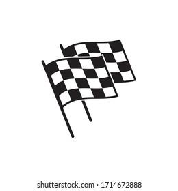 Finish flag icon design. vector illustration