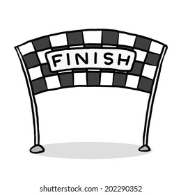 finish line flag images stock photos vectors shutterstock