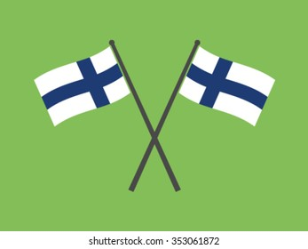 Finland Emblem Flag
