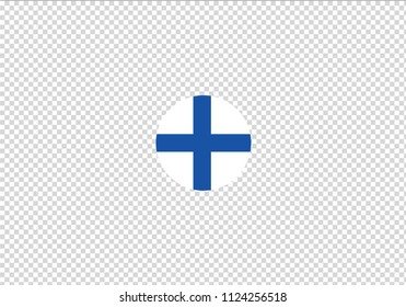 Finland national flag blue and white cross coat of arms suomi country state emblem