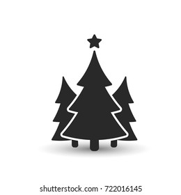 Christmas Tree Silhouette Images Stock Photos Vectors Shutterstock 10,637 best vector tree silhouette ✅ free vector download for commercial use in ai, eps, cdr, svg vector illustration graphic art design format.tree, tree vector, tree isolated, tree branch. https www shutterstock com image vector fir tree icon three spruce vector 722016145