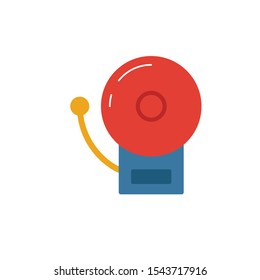 Fire Alarm icon. Simple flat element from fire safety collection. Creative fire alarm icon for templates, software and apps.