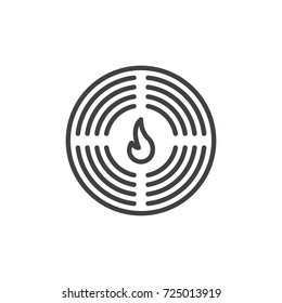 fire alarm design images stock photos vectors shutterstock NFPA Fire Alarm Symbols Chart fire alarm line icon outline vector sign linear style pictogram isolated on white
