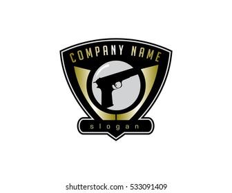 Fire arm store logo