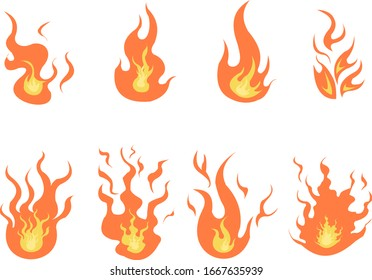 fire assets version 1, can be used for animation, motion graphics and etc.