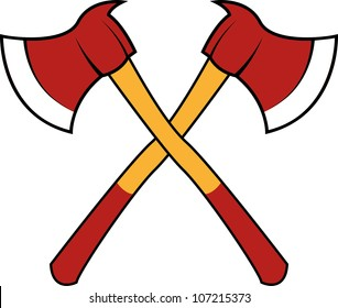 Fire axe cross