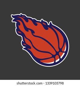 Fire basket ball