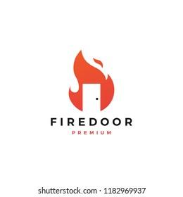 fire door logo