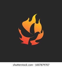 fire dove logo