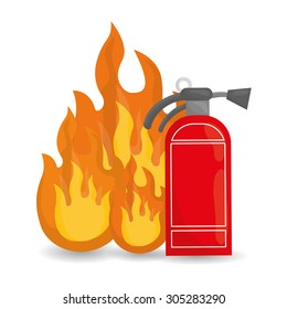 Fire Emergency, Vector illustration, graphic eps 10