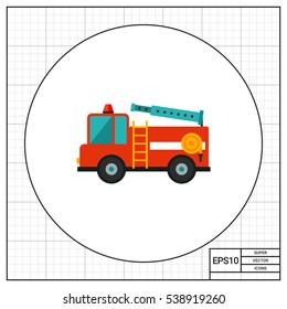 Fire engine icon