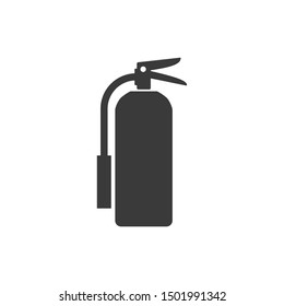 Fire extinguisher icon template color editable. Fire extinguisher symbol vector sign isolated on white background illustration for graphic and web design.