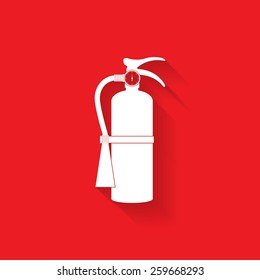 Fire extinguisher icon - Vector
