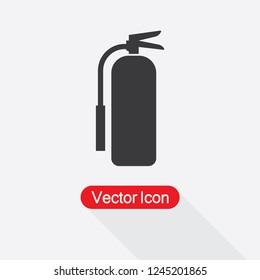 Fire Extinguisher Icon Vector Illustration Eps10