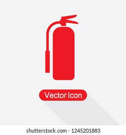 Fire Extinguisher Icon Vector Illustration Eps10