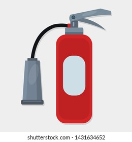 fire extinguisher isolated for firefighter concept icon vector illustration