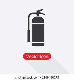Fire Extinguisher Sign Vector Illustration Eps10