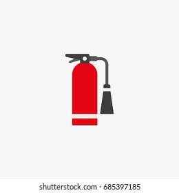 fire extinguisher vector icon