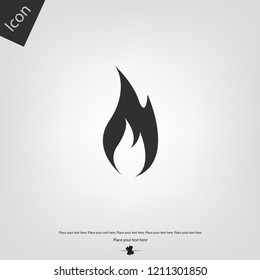 Fire or flame icon