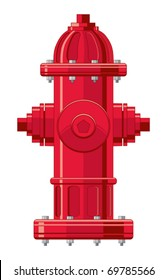 Fire Hydrant is a four color illustration that can be easily edited or separated for print or screen print.