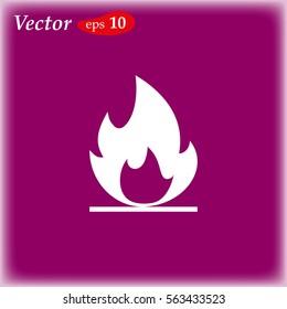fire icon web design