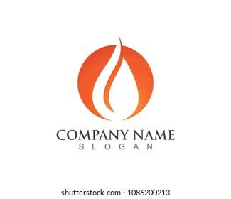 Fire logo and symbols