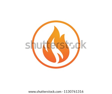 Fire Logo Symbols Flame Stock Vector (Royalty Free) 1130761316
