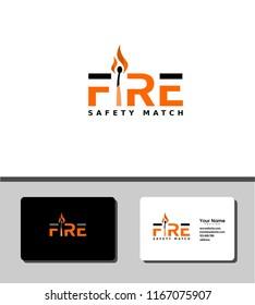 fire match logo