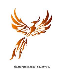fire phoenix fly