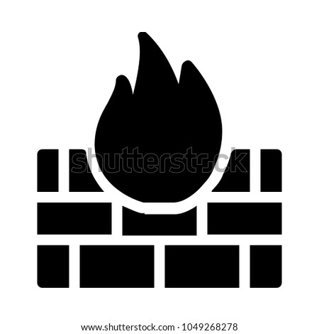 fire precuation saftey stock vector royalty free 1049268278