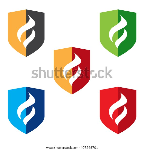 Fire Protection Symbols Stock Vector (Royalty Free) 407246701