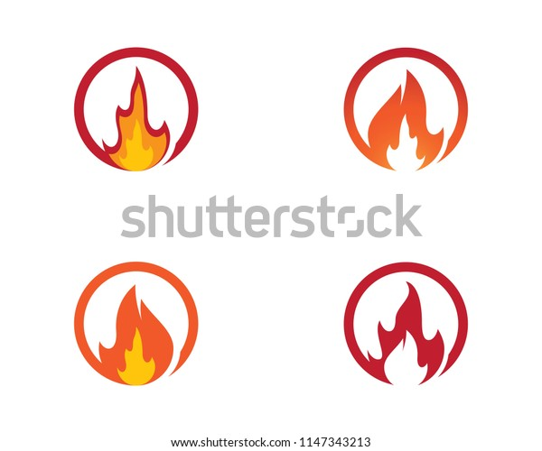 Fire symbol illustration