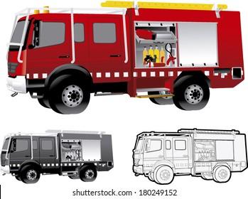 Camion De Pompier Images Stock Photos Vectors Shutterstock