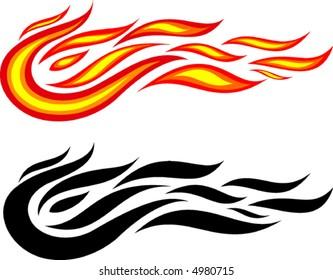Fire (Vector).