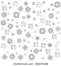 fire works   background  seamless