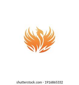 Firebird logo design modern icon