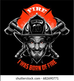 Firefighter Devil
