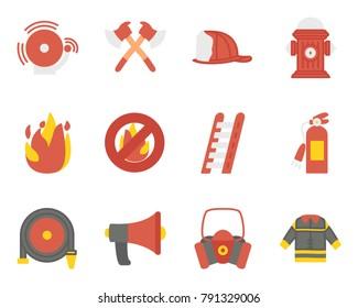 Firefighting flat icon