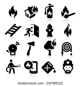 Firefighting icons