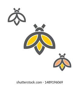 firefly clip art vector icon animal