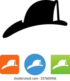 Fireman's hat icon